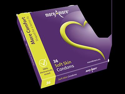 Soft Skin 36 condooms - More Comfort