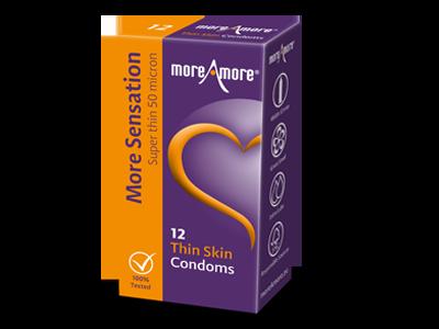 Thin Skin 12 condooms - More Sensation