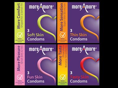 Combideal 4x3-pack condooms