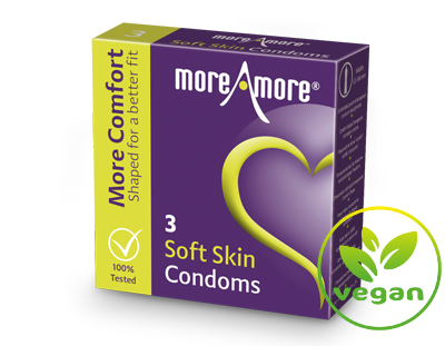 Soft Skin 3 condooms - More Comfort