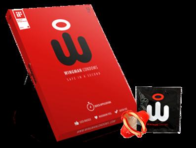 Wingman condom 12 pack